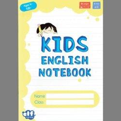 画像1: TL-9214 KIDS ENGLISH NOTEBOOK-YELLOW (AGES 4〜)
