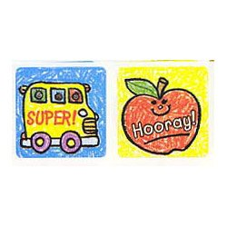 "画像1: 【CD-0630】SQUARE STICKER  ""SCHOOL DAYS"""