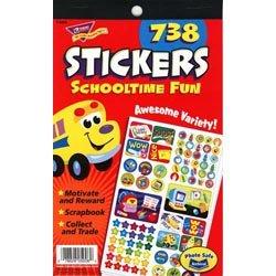 "画像1: 【T-5008】STICKER PAD ""SCHOOLTIME FUN"""