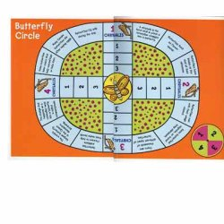 "画像1: 【S-40078】FILE-FOLDER GAME ""BUTTERFLY CIRCLE"""