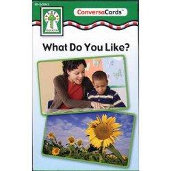 """画像1: 【KE-845042】CONVERSA-CARDS """"WHAT DO YOU LIKE?"""""""