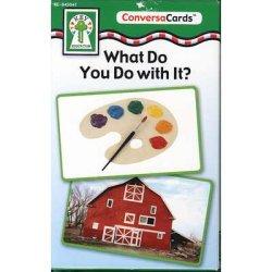 """画像1: 【KE-845041】CONVERSA-CARDS """"WHAT DO YOU DO WITH IT?"""""""