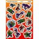 "【T-64004】SHAPE TALES STICKER  ""THREE BILLY GOATS GRUFF""【セール品】"