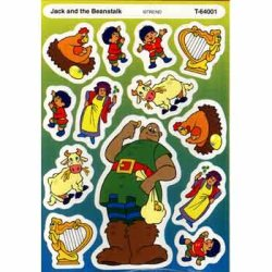 "画像1: 【T-64001】SHAPE TALES STICKER  ""JACK AND THE BEANSTALK""【セール品】"