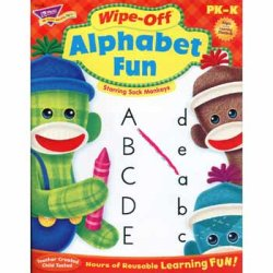 "画像1: 【T-94118】WIPE-OFF ACTIVITY BOOK ""ALPHABET FUN"""