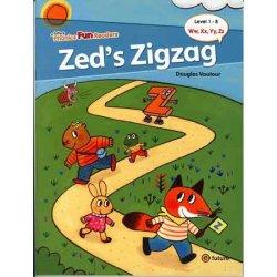 """画像1: 【TL5564】PHONICS FUN READERS LEVEL1-8 """"ZED'S ZIGZAG"""""""