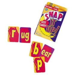 画像1: 【LER-3043】SNAP IT UP! WORD FAMILIES & READING PHONICS CARD GAME