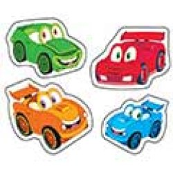 "画像1: 【T-46344】SHAPE STICKER  ""CAR-TOONS"""