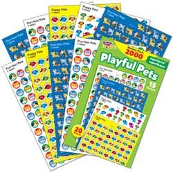 "画像1: 【T-46929】CHART STICKER VARIETY PACK  ""PLAYFUL PETS"""