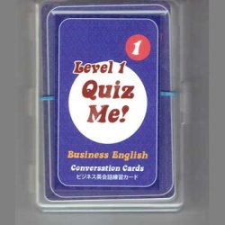 "画像1: 【TL-2045】""QUIZ ME!"" BUSINESS  ENGLISH CONVERSATION-LEVEL 1(PACK 1)"