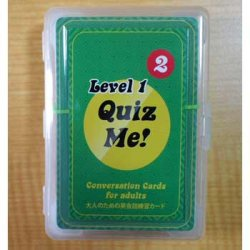 "画像1: 【TL-2043】""QUIZ ME!"" CONVERSATION CARDS FOR ADULTS-LEVEL 1 (PACK 2)"