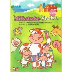 """画像1: 【M-2535】CD付き絵本 """"MILKSHAKE SHAKE"""""""