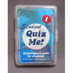 "画像1: 【TL-2087】""QUIZ ME!"" CONVERSATION CARDS FOR STUDENTS  (PACK 1)"