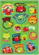 "【T-83036】MIXED SHAPE STINKY STICKER  ""APPEALING APPLE(Apple)"""