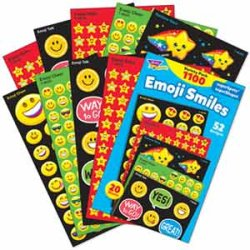 "画像1: 【T-46932】STICKER VALUE PACK  ""EMOJI SMILES"""
