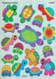"【T-63037】SPARKLE STICKER  ""TWINKLING TURTLES""【在庫限定品】"