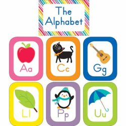 "画像1: 【CD-110392】ALPHABET POSTER ""JUST TEACH"""