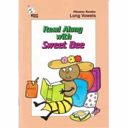 "画像1: READ ALONG WITH ""SWEET BEE"" (LONG VOWELS)【わけあり品】"
