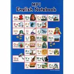 画像1: 【M-6722】MPI ENGLISH NOTEBOOK 英語ノート