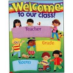 """画像1: 【T-38211】LEARNING CHART """"WELCOME-TREND KIDS""""【在庫限定商品】"""