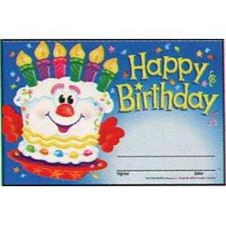 """画像1: 【T-81017】RECOGNITION AWARD  """"HAPPY BIRTHDAY-CAKE"""""""