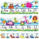 "【T-8267】ALPHABET POSTER ""POOL PARTY PALS"""