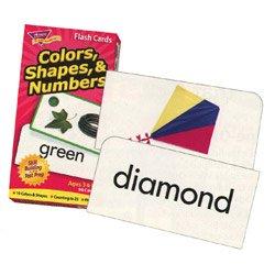 """画像1: 【T-53011】FLASH CARDS """"COLORS, SHAPES & NUMBERS"""""""