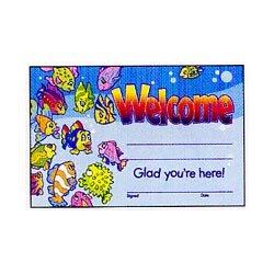 """画像1: 【T-8109】RECOGNITION AWARD  """"WELCOME""""【在庫限定商品】"""