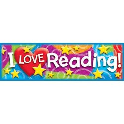 "画像1: 【T-12070】BOOK MARK ""I LOVE READING!"""