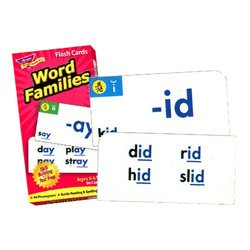"画像1: 【T-53014】FLASH CARDS ""WORD FAMILIES"""