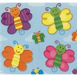 "画像1: 【CD-168032】SHAPE STICKER  ""BUTTERFLIES"""
