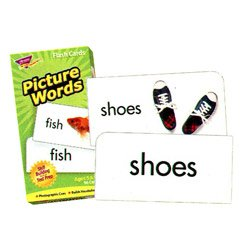 "画像1: 【T-53004】FLASH CARDS ""PICTURE WORDS"""