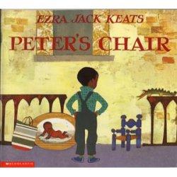 """画像1: 英語絵本""""PETER'S CHAIR(邦題:ピーターのいす)"""""""