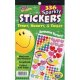 "【T-5005】STICKER PAD ""SPARKLY STARS, HEARTS & SMILES"""