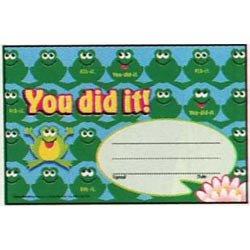 """画像1: 【T-81034】RECOGNITION AWARD  """"YOU DID IT!-FROG"""""""