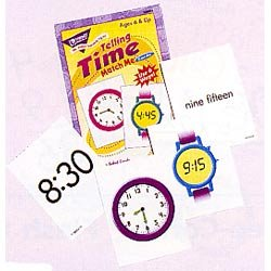 "画像1: 【T-58004】MATCH-ME CARDS ""TELLING TIME"""